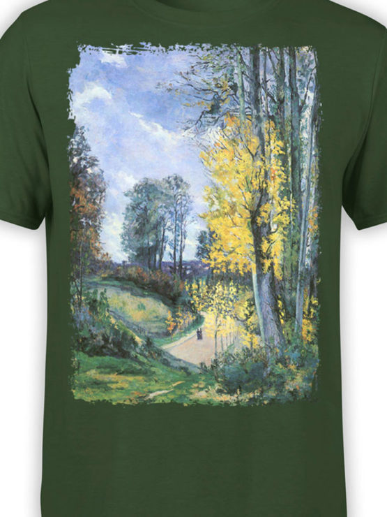 1348 Armand Guillaumin T Shirt Tall Trees in Autumn Front Color