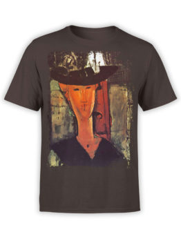 1361 Amedeo Modigliani T Shirt Madame Pompadour Front