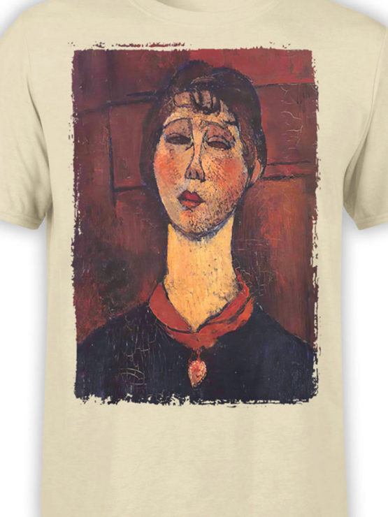 1368 Amedeo Modigliani T Shirt Madame Dorival Front Color