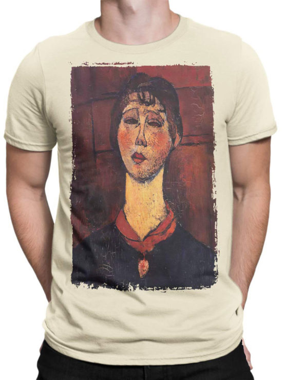 1368 Amedeo Modigliani T Shirt Madame Dorival Front Man