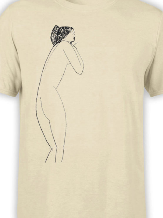 1370 Amedeo Modigliani T Shirt Anna Akhmatova Front Color