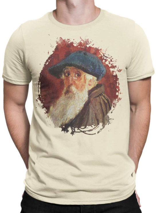 1386 Camille Pissarro T Shirt Self Portrait Front Man